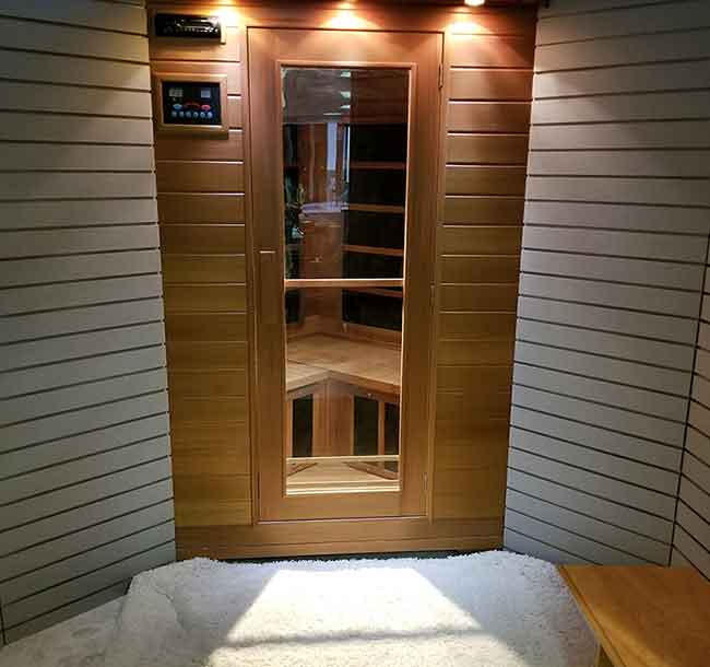 How to convert sauna to salt cabin or booth