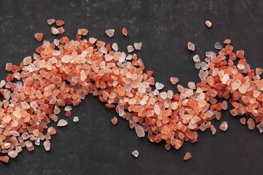 Himalayan salt for salt room floor